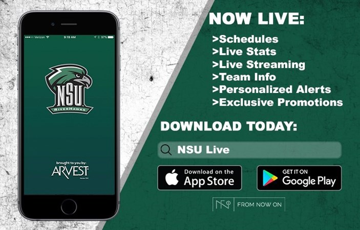 NSU Athletics partners with Arvest Bank and From Now On to